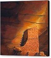 Mummy Cave Ruins Canvas Print