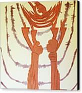Nativity Of Jesus Canvas Print by Gloria Ssali