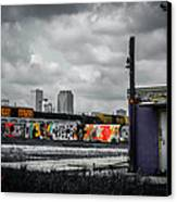 New Orleans Skyline From The Creative Part Of Town Canvas Print