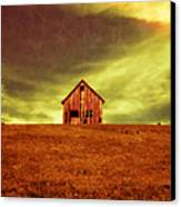 Old House On The Hill Canvas Print by Edward Fielding