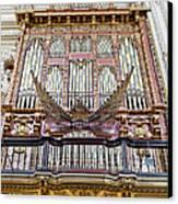 Organ In Cordoba Cathedral Canvas Print