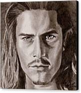Orlando Bloom Canvas Print