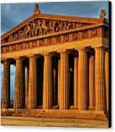 Parthenon Canvas Print by Dan Sproul