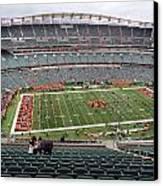 Paul Brown Stadium Canvas Print by Dan Sproul
