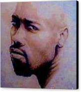 Pensive Look Canvas Print