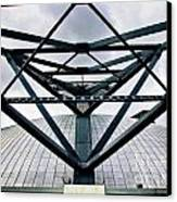 Perspectives Mellon Arena Canvas Print by Amy Cicconi