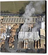 Piveteau Saw Mill, Sainte Florence Canvas Print