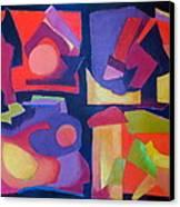 Quartet Canvas Print by Diane Fine