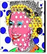 Queen Canvas Print by Ricky Sencion