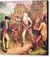 Quidor's The Return Of Rip Van Winkle Canvas Print