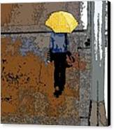 Rainy Days And Mondays Canvas Print by David Bearden