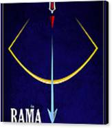 Rama The Avatar Canvas Print by Tim Gainey