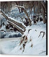Rattlesnake Creek Canvas Print