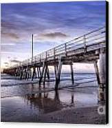 Ready Jetty Go Canvas Print by Shannon Rogers