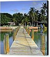 Resort Canvas Print by Bruce Bain