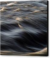 River Flow Canvas Print by Bob Orsillo