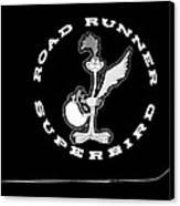 Road Runner Superbird Emblem Canvas Print