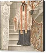 Saint Francis Xavier Canvas Print by John Alan  Warford