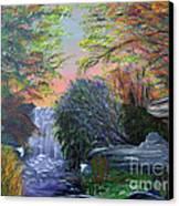 September Reverie Canvas Print by Alys Caviness-Gober
