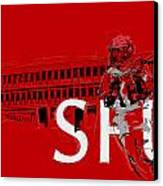 Sfu Art Canvas Print by Catf