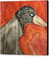 Shaman Original Painting Canvas Print by Sol Luckman
