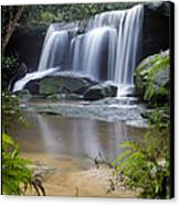 Somersby Falls Canvas Print by Steve Caldwell