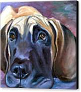 Soulful - Great Dane Canvas Print by Lyn Cook