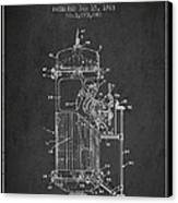 Space Capsule Patent From 1963 Canvas Print by Aged Pixel