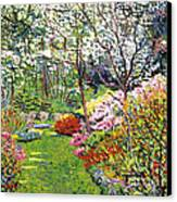 Spring Forest Vision Canvas Print