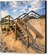 Stairway To Heaven Canvas Print by Debra and Dave Vanderlaan
