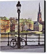Stockholm 6 Canvas Print