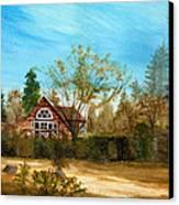 Strawberry Lodge Canvas Print by Dale Jackson
