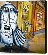 Street Art Valparaiso Canvas Print by Tyler Lucas