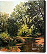 Study Of Michael Stack  Canvas Print by W  Scott Fenton