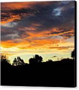 Sunset New Zealand  Canvas Print by Joyce Woodhouse