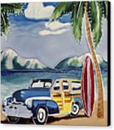 Surfers Dream Canvas Print by Kip Krause