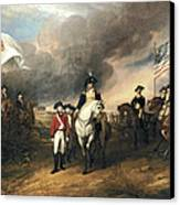 Surrender Of Lord Cornwallis Canvas Print by John Trumbull