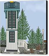 Table Bluff Lighthouse California Canvas Print