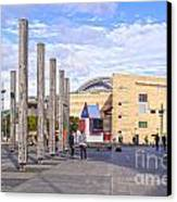 Te Papa Wellington New Zealand Canvas Print by Colin and Linda McKie