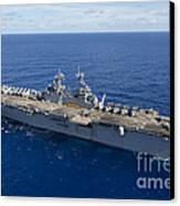 The Amphibious Assault Ship Uss Boxer Canvas Print