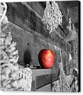The Apple Canvas Print