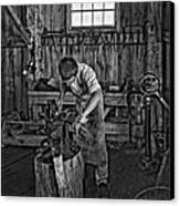 The Apprentice Monochrome Canvas Print by Steve Harrington