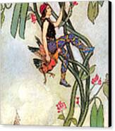 The Fairy Book Canvas Print by Warwick Goble