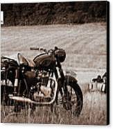 The Great Escape Motorcycle Canvas Print