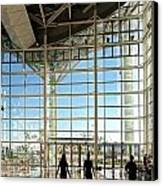 The New Kaohsiung Exhibition Center Canvas Print by Yali Shi