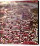 The Oil Spots Canvas Print by Aqil Jannaty