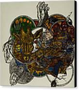 The Secret  Canvas Print by Nickolas Kossup