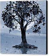 The Tree That Wept A Lake Of Tears Canvas Print
