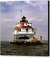 Thomas Point Shoal Lighthouse Canvas Print