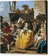 Tiepolo, Giovanni Domenico 1727-1804 Canvas Print